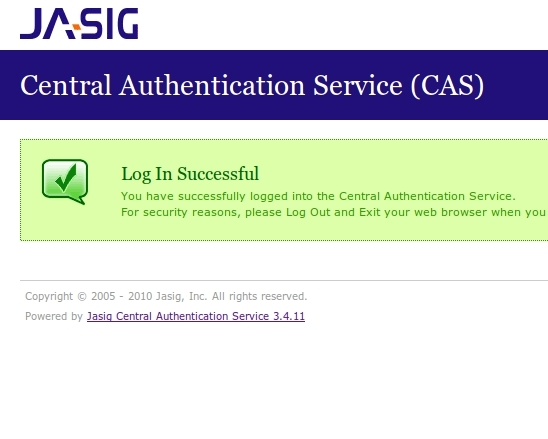 CAS SSO with two-factor authentication
